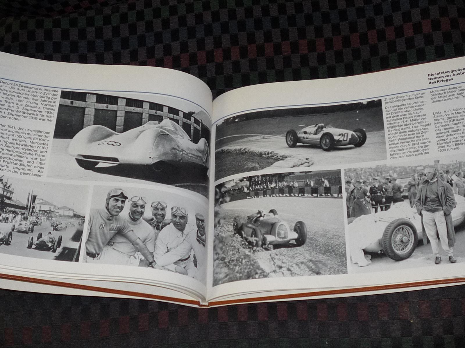 Auto Union Grand Prix Wagen by Stefan Knittel: Hard Cover, First ...