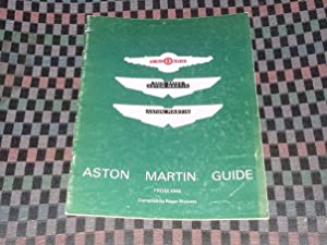 Aston Martin Guide from 1948
