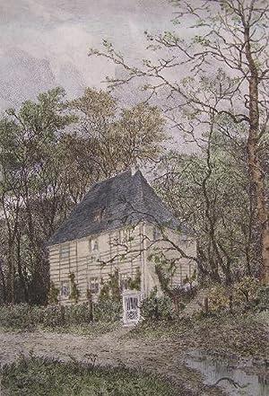 Goethes Gartenhaus.: Weimar. Mannfeld, Bernhard.