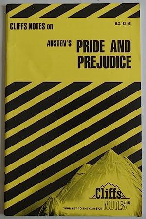 CliffsNotes Pride and Prejudice by Jane Austen: Jane Austen [Editor]