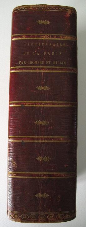 Dictionnaire portatif de la fable, pour l'intelligence: CHOMPRE (P. C.),