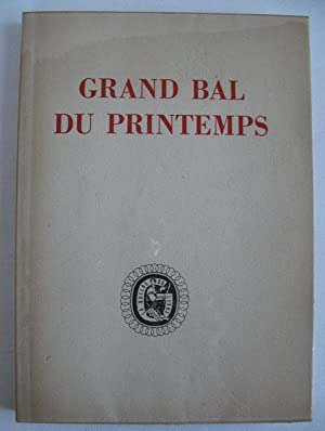 Prevert Jacques Grand Bal Du Printemps Abebooks