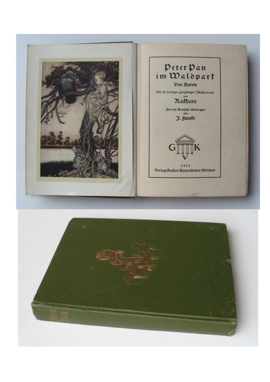 Peter Pan im Waldpark.: Barrie, James Matthew.