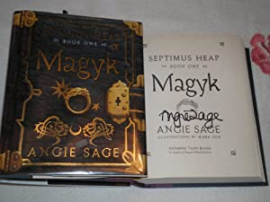 Magyk: Signed: Sage, Angie