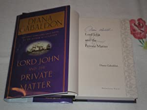 Lord John And The Private Matter: SIGNED