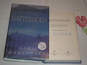 Matterhorn: A Novel Of The Vietnam War: Marlantes, Karl