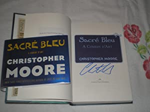 Sacre Bleu: A Comedy D'art: Signed: Moore, Christopher