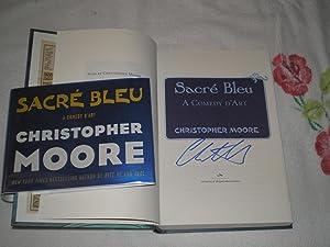 Sacre Bleu: A Comedy D'art: Signed: Moore, Christopher