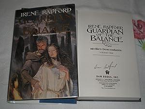 Guardian Of The Balance : Signed: Radford, Irene