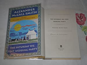 The Saturday Big Tent Wedding Party: The: McCall Smith, Alexander