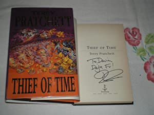 Thief Of Time: Signed: Pratchett, Terry