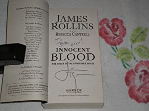 Innocent Blood: The Order Of The Sanguines: James Rollins; Rebecca