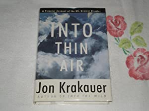 Into Thin Air: A Personal Account of: Jon Krakauer