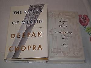 The Return Of Merlin: Signed: Deepak Chopra