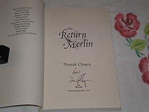 The Return Of Merlin: Signed: Chopra, Deepak