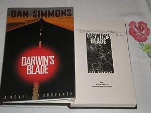Darwin's Blade: Signed: Simmons, Dan