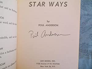 Star Ways (Signed): Anderson, Poul
