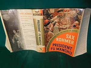 President Fu Manchu: Rohmer, Sax