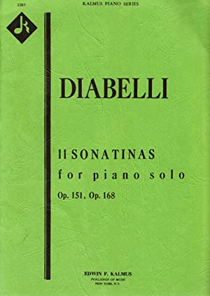 Diabelli: 11 Sonatas for Piano Solo Op.: Kalmus Piano Series