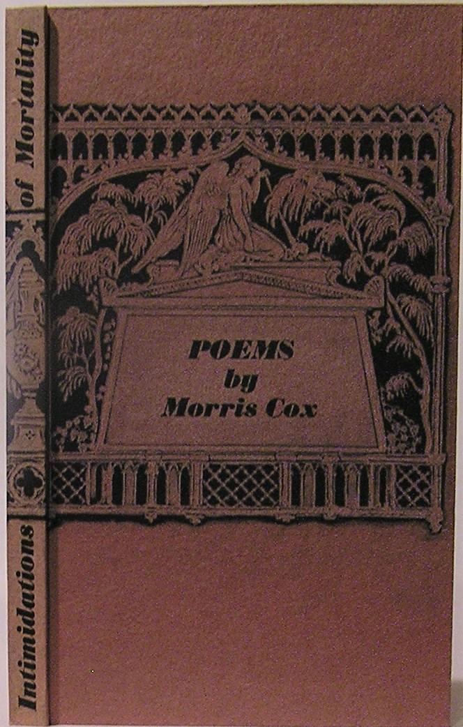 Intimidations_of_Mortality_Poems_on_Victorian_Themes_with_Psychological_Implications_Cox_Morris_Very_Good_Hardcover