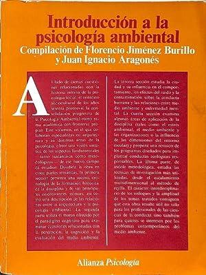 INTRODUCCIÓN A LA PSICOLOGÍA AMBIENTAL.: JIMÉNEZ BURILLO, FLORENCIO