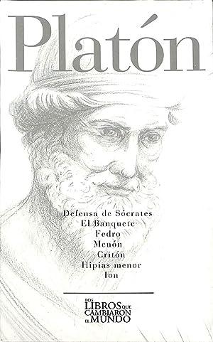 PLATON DEFENSA DE SOCRATES EL BANQUETE FEDRO: PLATON