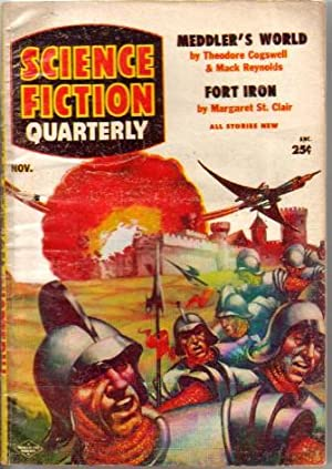 Science Fiction Quarterly Vol.4 No.1 November 1955: Science Fiction Quarterly