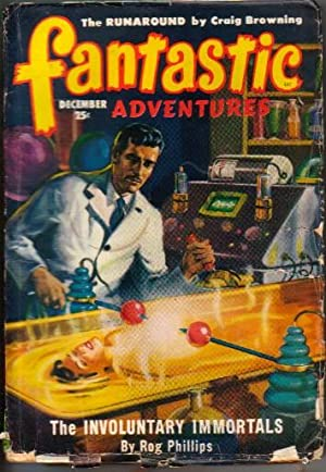 Fantastic Adventures Vol.11 No.12 December 1949 (The Involuntary Immortals; The Bottle; The ...