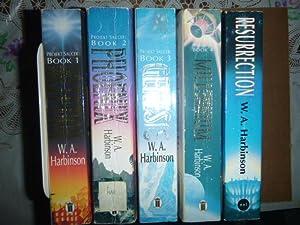 Projekt Saucer Vols 1-5: Inception; Phoenix; Genesis;: Harbinson, W.A. (cover