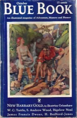 Blue Book Magazine Vol.59 No.6 October 1934: Kennicott, Donald (ed)