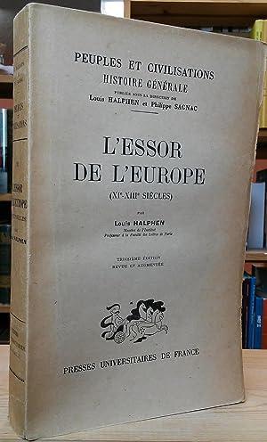 L'Essor de l'Europe (XIe-XIIIe siècles): Halphen, Louis