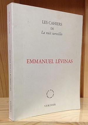 Les Cahiers de La nuit surveillée: Emmanuel Lévinas: Rolland, Jacques (Editor)