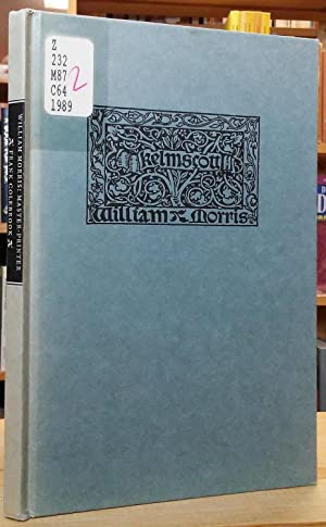 William Morris: Master-Printer - A Lecture Given: Colebrook, Frank (Edited