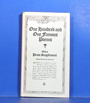 One Hundred and One Famous Poems; With a Prose Supplement: Cook, Roy J.