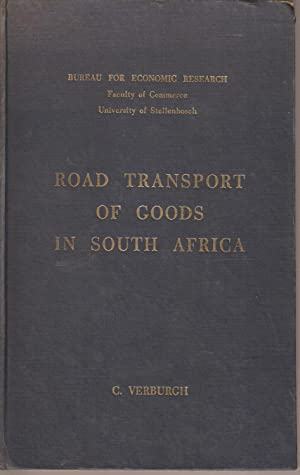 Road Transport of Goods in South Africa: Verburgh, C