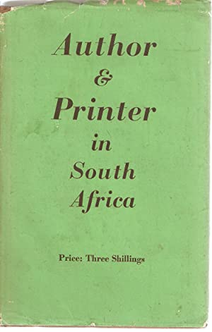 Author & Printer in South Africa: Gould, Charles
