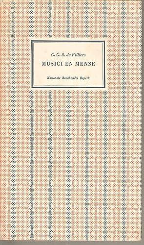 Musici en Mense: de Villiers, C G S