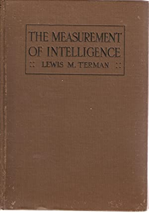 The Measurement of Intelligence: Terman, Lewis M
