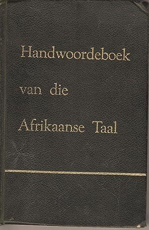HAT - Handwoordeboek van die Afrikaanse Taal: Schoonnees, P C et al.