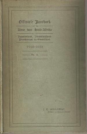 Offisiele Jaarboek van die Unie van Suid-Afrika en van Basoetoeland, Betsjoeanaland Protektoraat en...