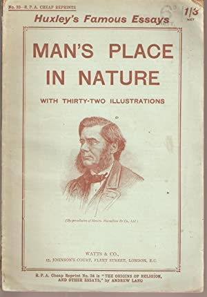 Man's Place in Nature: Huxley, Thomas Henry