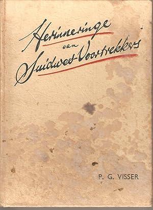 Herinneringe van Suidwes-Voortrekkers: Visser, P G