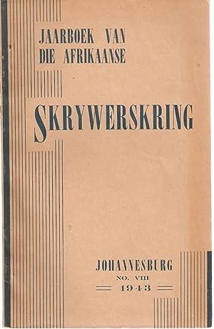 Jaarboek van die Afrikaanse Skrywerskring 1943 Nr. VIII