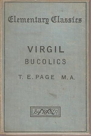 Virgil Bucolics: Page, T E
