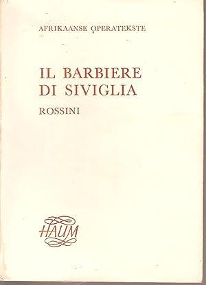 Il Barbiere Di Siviglia - Rossini -: Minnaar-Vos, Anna (trans.)