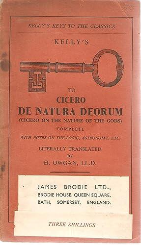 Cicero's De Natura Deorum: Owgan, H (trans)