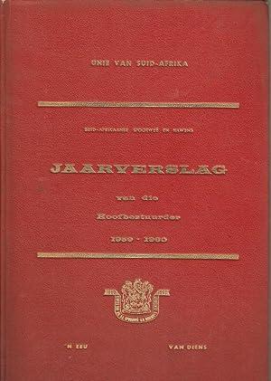 Jaarverslag van die Hoofbestuurder 1959-1960 Suid-Afrikaanse Spoorwee en Hawens