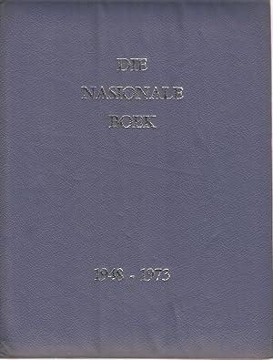 Die Nasionale Boek - Gewy aan 25 Jaar van Nasionale Bewind (1948 - 1973): van Schoor, A M (red.)