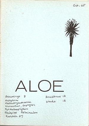 Aloe - Mondstuk van die Suid-Afrikaanse Aalwyn- en Vetplantvereniging / Journal of the South ...