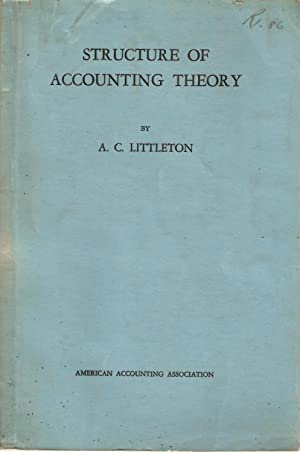 Structure of Accounting Theory: Littleton, A C